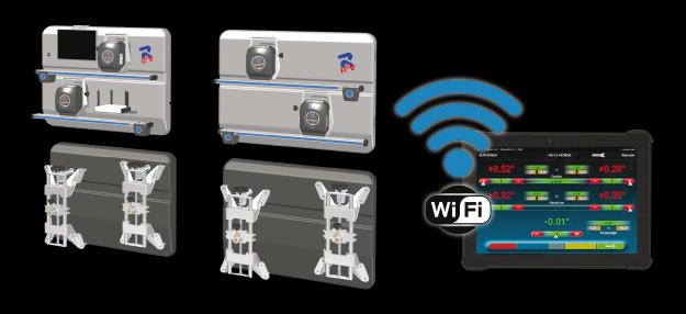 Ravaglioli TD2.0 WiFi uitlijner